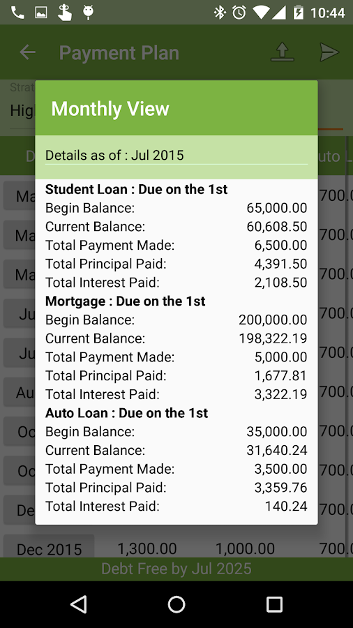 Debt Payoff Free- screenshot