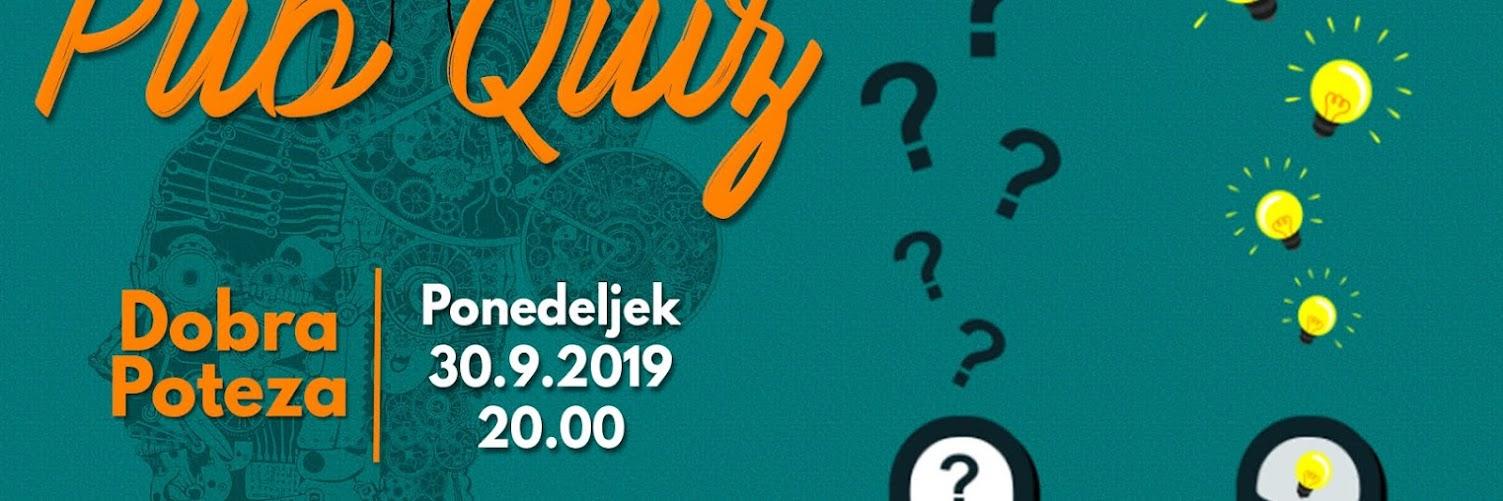Pub Quiz - 30.9.2019