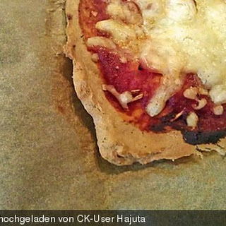 Pizzateig aus Thunfisch