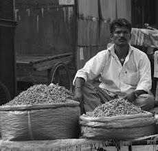 Photo: Peanut Sales  Bhubaneswar Orissa India