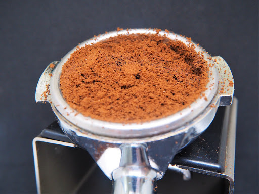 Grinding for espresso at home