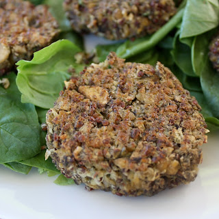 Protein Packed White Bean Tempeh Burgers