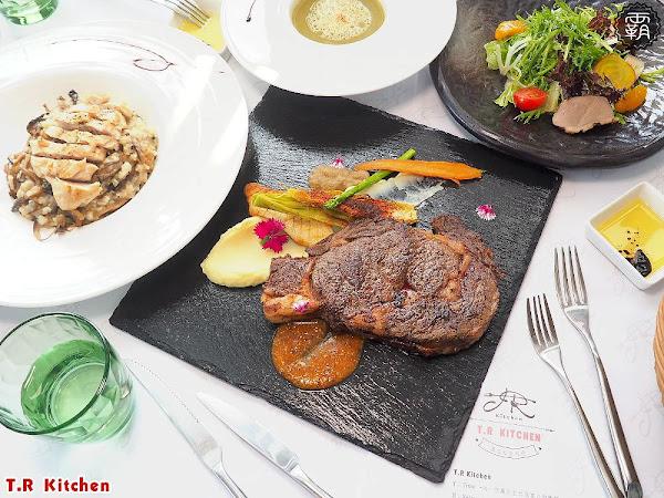 T.R Kitchen義法私廚料理,在地食材融入義法料理,桂丁雞軟嫩、Prime肋眼牛肉汁香甜!