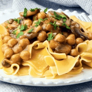 Chickpea And Mushroom Marsala