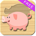 Animals Puzzle For Kids - Free icon