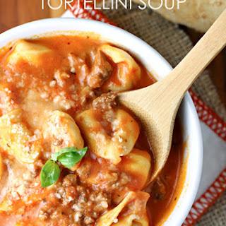 Creamy Tomato, Sausage and Tortellini Soup Recipe