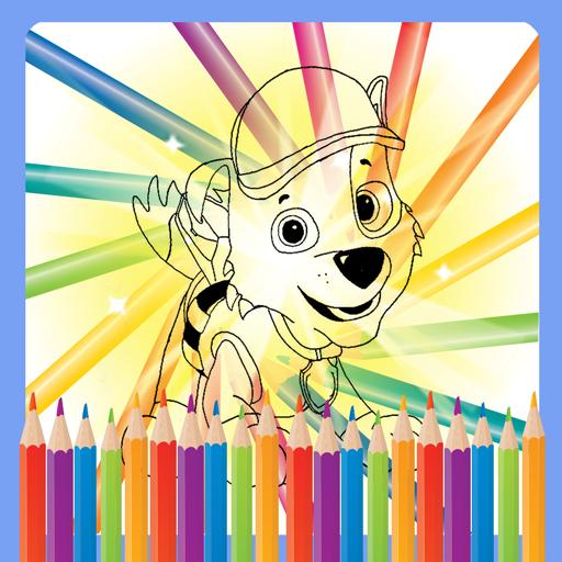 Puppy Super Dog Coloring Book Animated Google Play De Uygulamalar