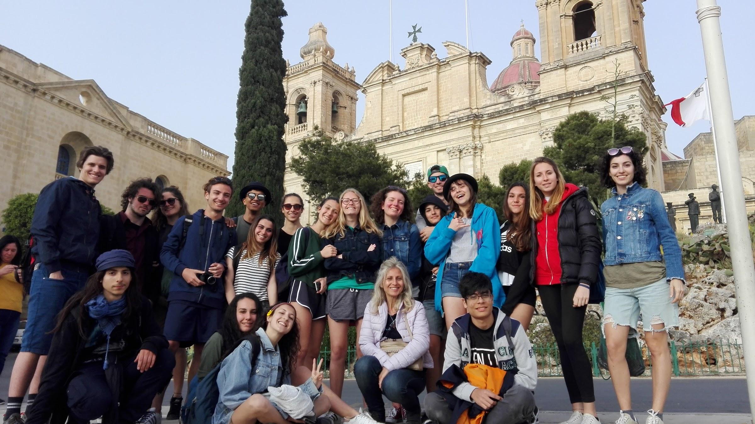 Soggiorno studio Malta 2018 – Liceo statale \