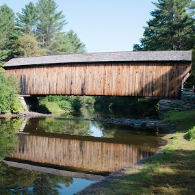 Corbin Bridge by Ron Malec - Buildings & Architecture Bridges & Suspended Structures ( covered bridge,  )