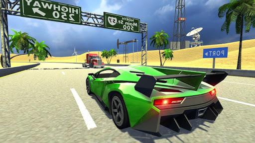 Extreme Car Driving Racing Screenshot