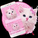 Cute Pink Kitty Keyboard icon