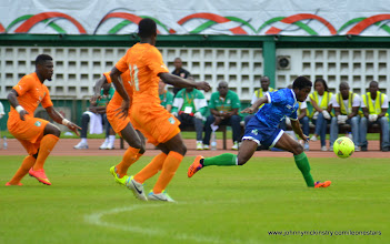 Photo: George Davies [Leone Stars v Ivory Coast, 6 September 2014 (Pic © Darren McKinstry / www.johnnymckinstry.com)]