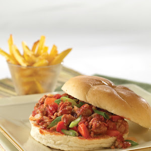 Asian-Style Pork Sloppy Joes