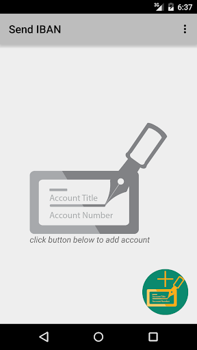 Send Bank Account for Android