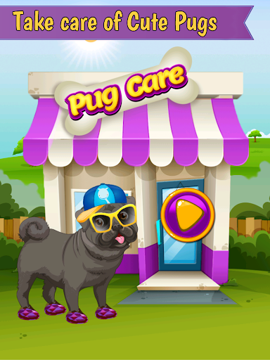 Pug Pet vet Doctor kids game