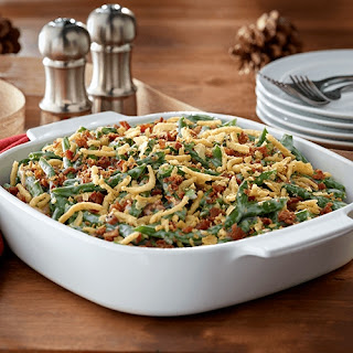 Bacon and Green Bean Casserole Deluxe