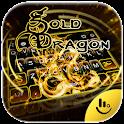 Gold Dragon Keyboard Theme icon