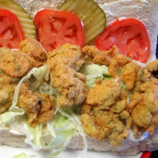 Classic Fried Oyster Po' Boy