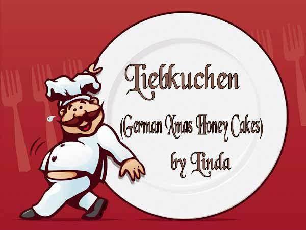 Lebkuchen (german Xmas Honey Cakes) Recipe