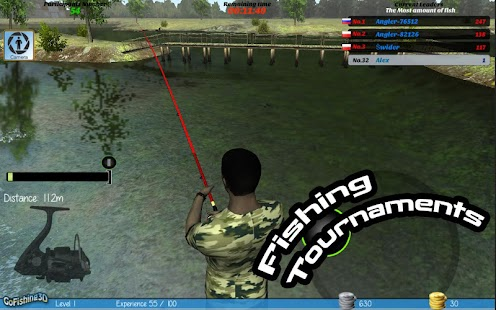 Gofishing3d the real fishing android apps on google play for Real fishing games