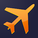Flight ping - track your flights icon