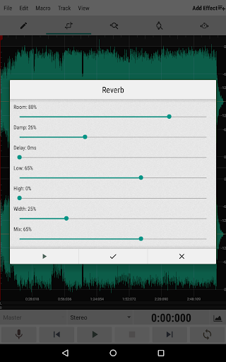 WaveEditor for Androidu2122 Audio Recorder & Editor 1.85 screenshots 11