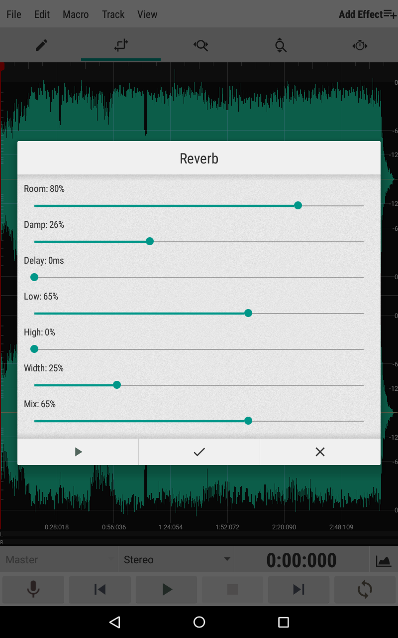 WaveEditor for Android™ Audio Recorder & Editor Screenshot 10