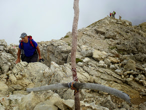 Photo: Arriviamo al Sass Ciampac 2672 mt
