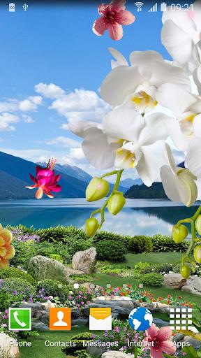 mod Spring Garden Live Wallpaper 1.0.7 screenshots 1