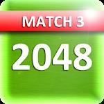Match 2048 board game.