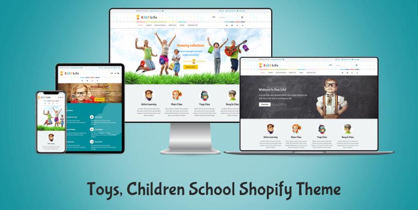 best Kids Shopify theme