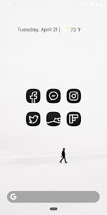 MNML DARK – Adaptive Icon Pack v1.4 [Patched] 2