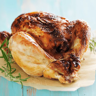 Herb-Roasted Whole Chicken.