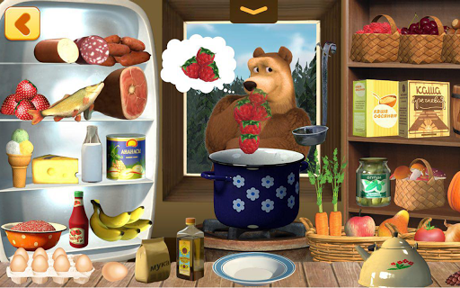 Masha and Bear: Cooking Dash 1.2.11 screenshots 21