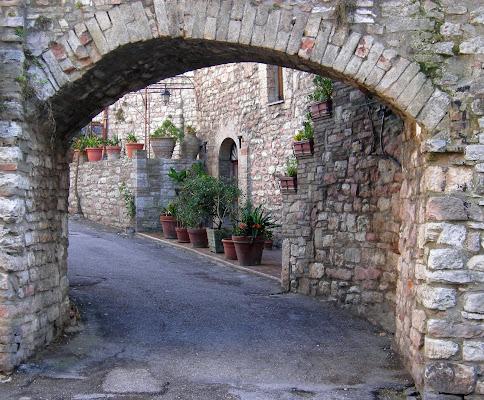Scorcio di Assisi di dan
