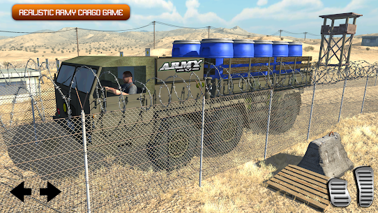 Army Truck Driving 2020: Cargo Transport Game 1.1 Latest MOD APK 3