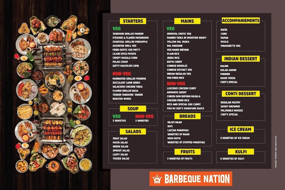 Barbeque Nation menu 3