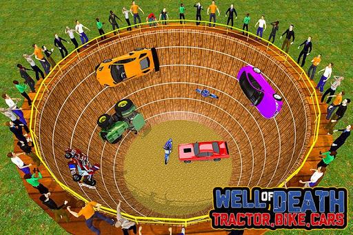 Well of Death Stunts: Tractor, Car, Bike & Kart download 1