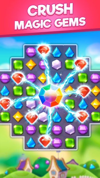 Bling Crush - Jewels & Gems Match 3 Puzzle Game Android App Screenshot