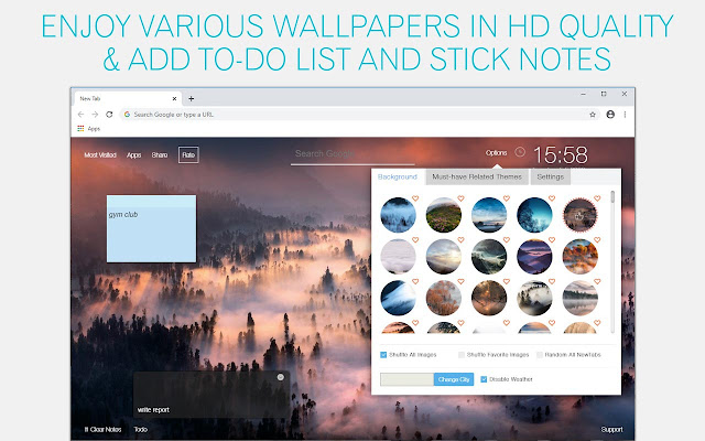 Fog Wallpaper HD Fog New Tab
