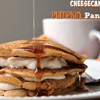 Cheesecake Pumpkin Pancakes.