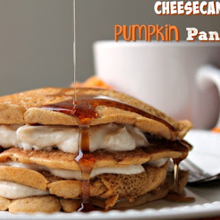 Cheesecake Pumpkin Pancakes.