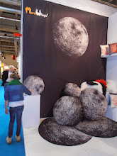 Photo: Photorealistic moon rock collection, Mero Wings, Stuttgart, Germany, www.merowings.com  #ambiente14