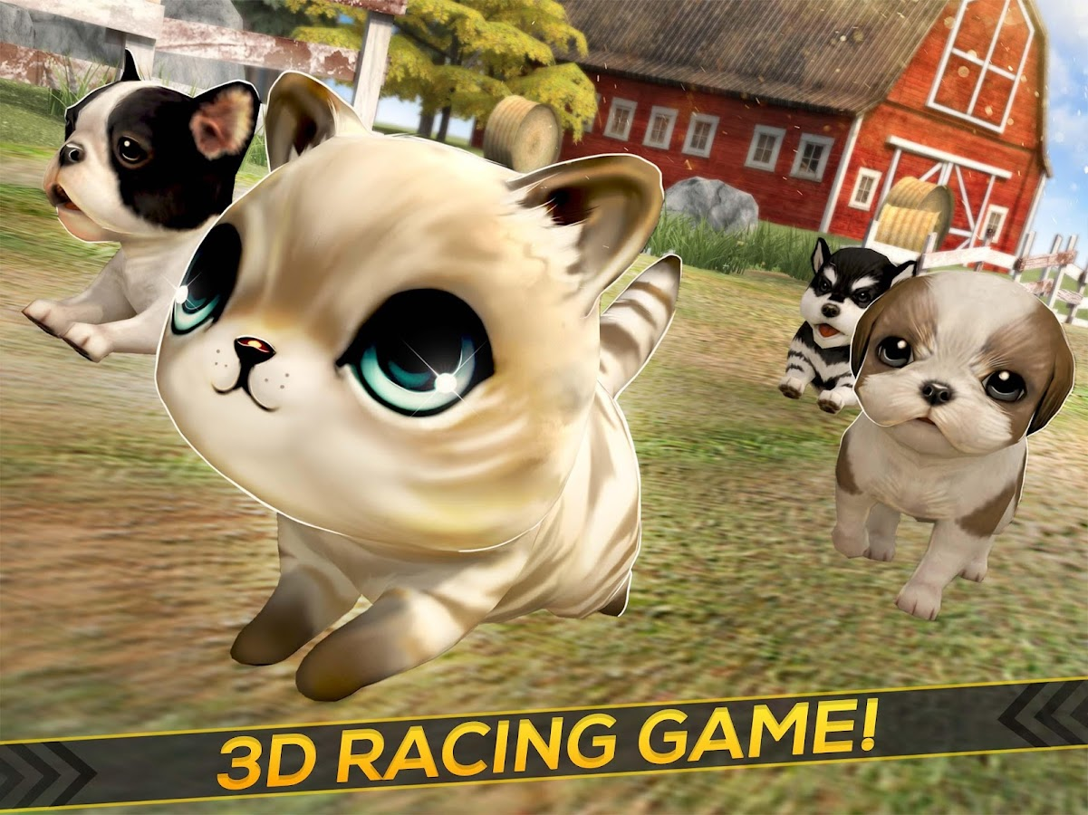 Puppies Kitties and Dogs Race Android Apps on Google Play