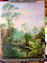 Photo: Painting by Dagmar at Riverbend Pk