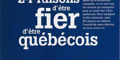 24 raisons d'être fier d'être québécois Dernière Heure