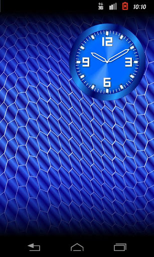 Casual Clock B.W