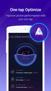Cache Cleaner-DU Speed Booster (booster & cleaner)- screenshot thumbnail