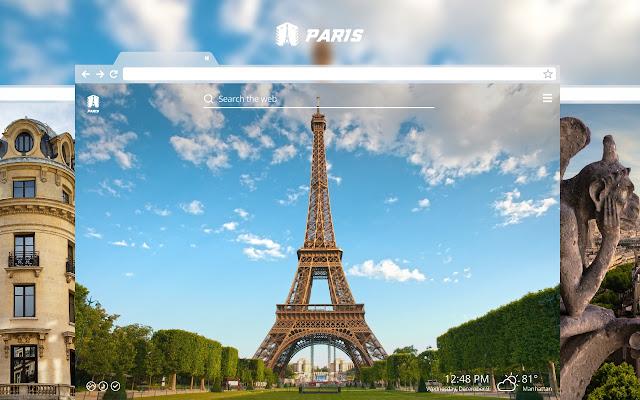 Paris HD Wallpapers New Tab