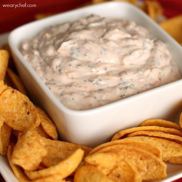Super Easy Mexican Sour Cream Dip Recipe